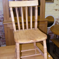 antique pine chairs